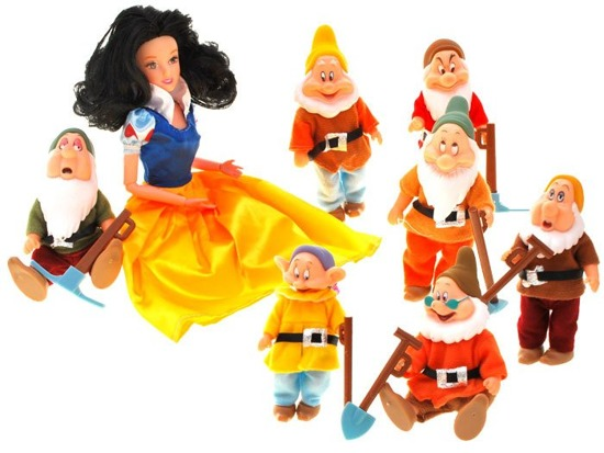Doll Snow White and the 7 Dwarfs ZA1628