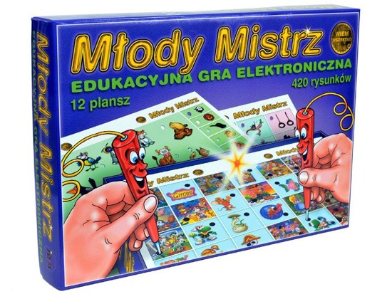 Educational electronic GAME Young Master GR0188