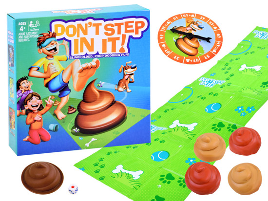 Funny GAME Don't step in, don't step in! GR0370