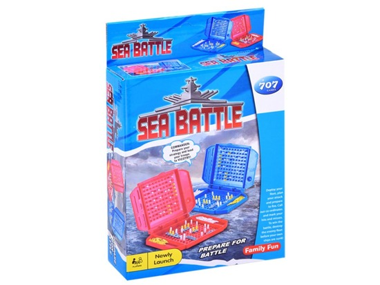 Game SHIPS MINI Sea Battle puzzle game Gr0373