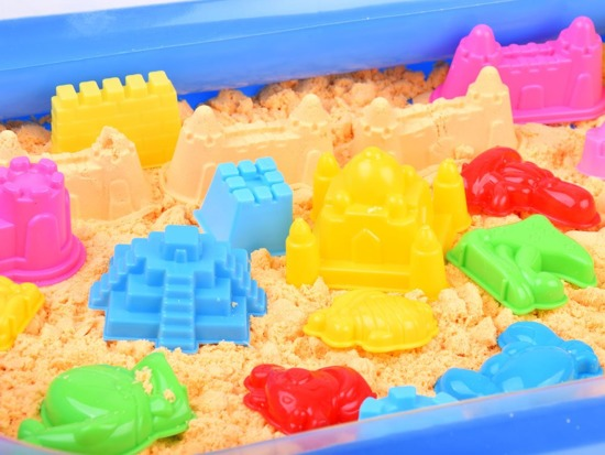 SAND kinetic Sandbox inflatable mold ZA1555