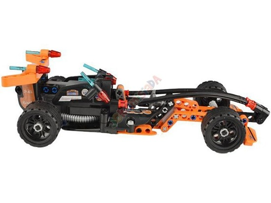 Technical building blocks toy car FORMULA EE 159 ele RC0366