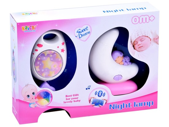 2in1 Music box + bedside lamp for baby Bluetooth ZA2645