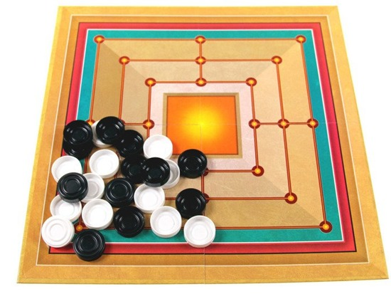 2w1 board game Checkers + Jaw grinder GR0089