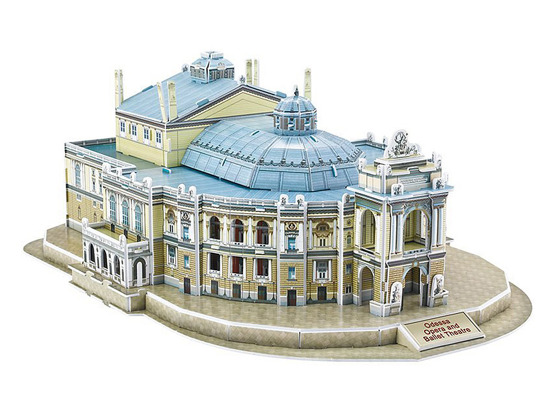 3D Puzzle Theater Opera in Odessa 76 pieces ZA2902