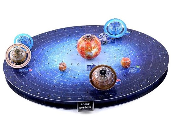 3D Puzzle planet EARTH SOLAR SYSTEM ZA1328
