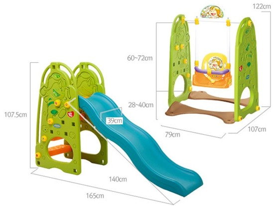 4in1 Large Playground SPEED BOARD SP0398