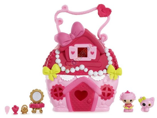 A colorful house for Lalaloopsy dolls ZA1901