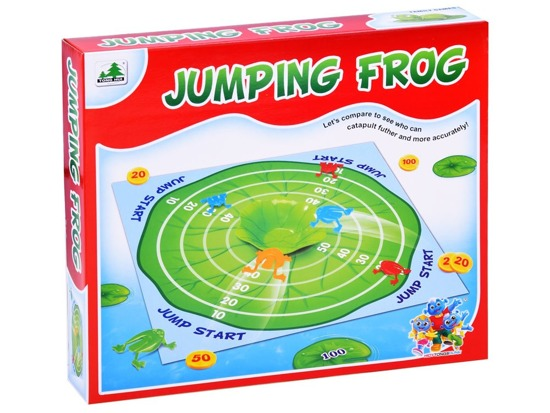 A family game of frogs flea GR0375