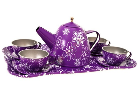 A set of tea cups trunk tray ZA1463