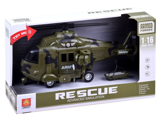 ARMY helicopter light sound drives ZA2944