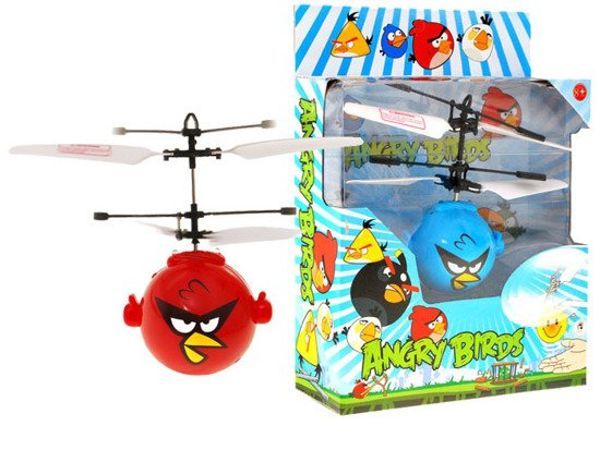 Angry bird flying copter controlled by hand RC0304