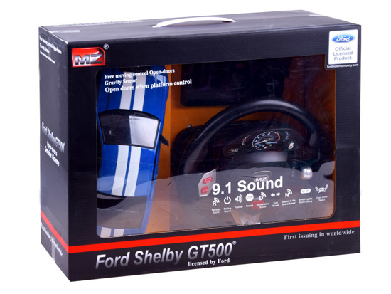 Auto Ford Shelby gt500 + steering wheel remote control RC0428