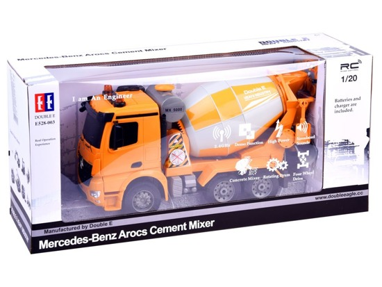 Auto Mixer Mercedes-controlled toy car RC0278