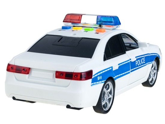 Auto POLICE sound light siren ZA2118