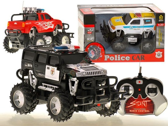 Auto Police MONSTER TRUCK controlled RC0232