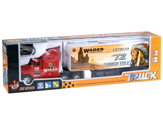 Auto TIR Truck with trailer for RC0409 remote control