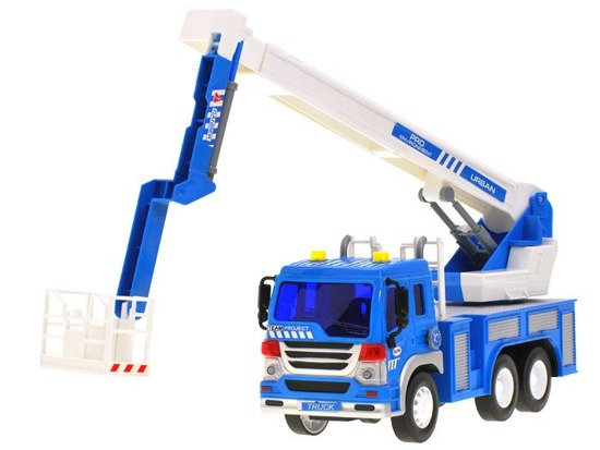 Auto crane construction truck to the construction site ZA1335