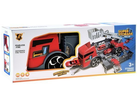 Auto truck 2in1 parking low tow truck ZA3199