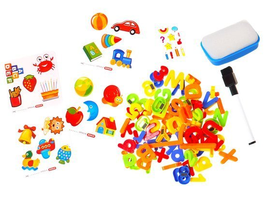 BIG BOARD MAGNETIC LETTERS AND NUMBERS + TA0021