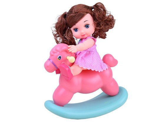 Baby doll + POLE HORSE accessories ZA2927