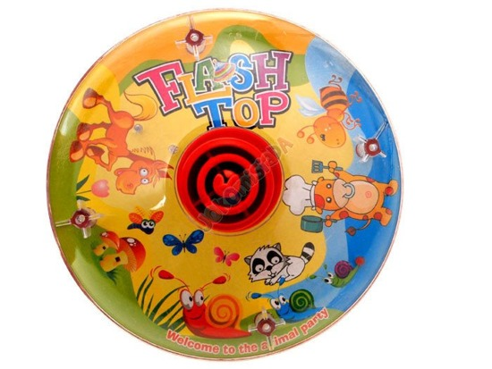 Bak traditional neon swirl toy ZA0792