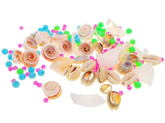 Beads shells set creative DIY ZA1548
