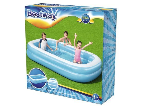 Bestway Inflatable Family Pool 262x175cm 54006
