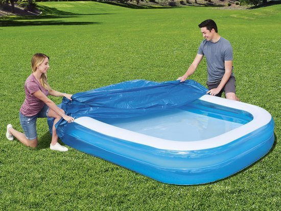 Bestway Inflatable Pool cover 262x175cm + 54006