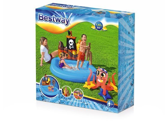 Bestway Inflatable playground BOAT 140cm 52211