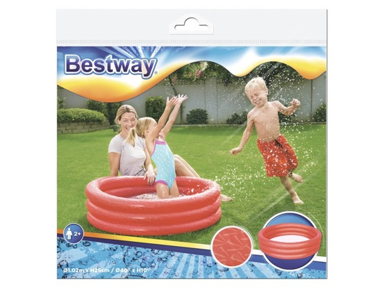 Bestway Shower tray inflatable pool 102 x 25cm 51024