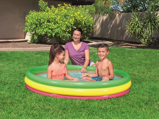 Bestway colorful Inflatable pool 152x30cm 51103