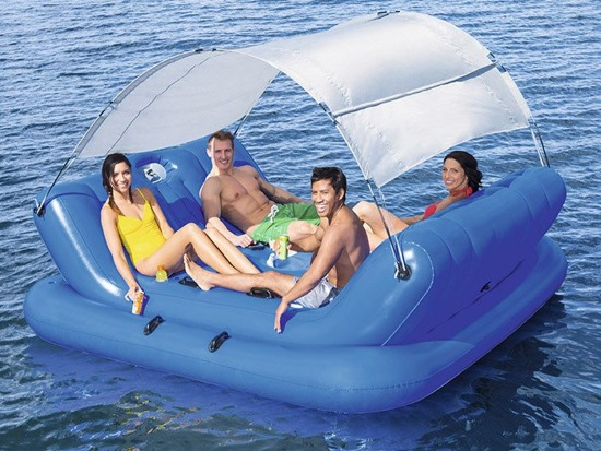 Bestway inflatable floating island 272x196cm 43134