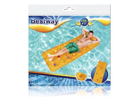Bestway inflatable mattress with a pillow 188x71cm 43014