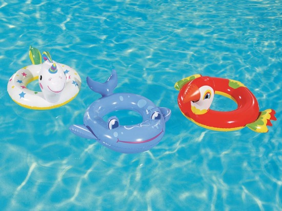 Bestway inflatable wheel for swimming animals 36128