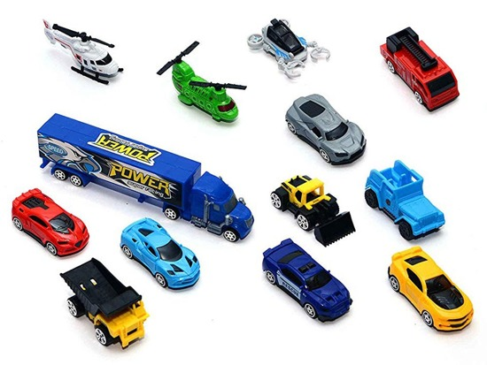 Big truck. Truck with toy cars ZA2914