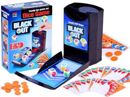 BlackOut Bingo Family Dice Random Game GR0368