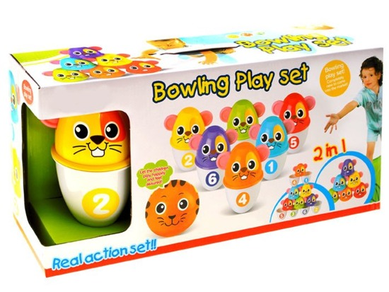 Bowling colorful MOUSE 2in1 Cans ZA1733