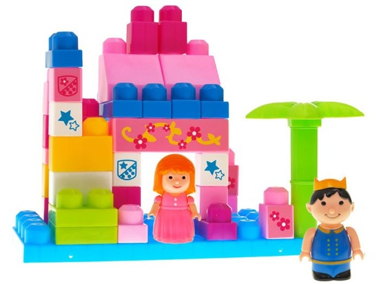 Castle colorful big PADS to play 40ele. ZA0629