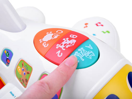 Cheerful interactive PLANE for infant ZA1494