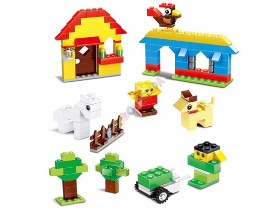 Classic Blocks large set of 625 pcs ZA1738