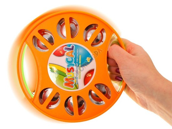 Colored Tambourine for kindergarten IN 0054