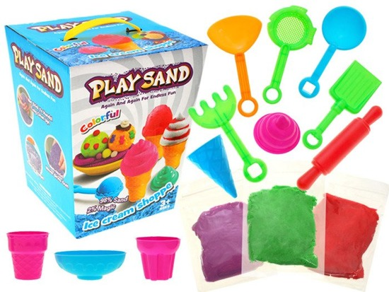 Colored sand kinetic desserts 0.9 kg ZA1565