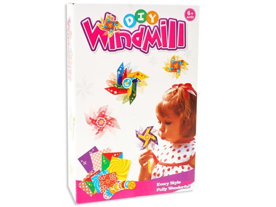 Colored windmill toy series DIY ZA1086