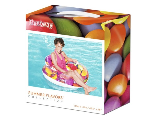 Colorful armchair for swimming 118cm Bestway43186