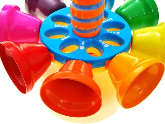 Colorful bells musical instrument ZA1700