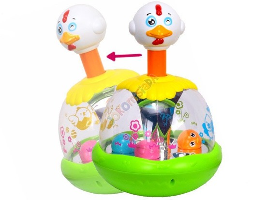 Colourful dinghy Chicken bubble Dumpty HEN ZA0646