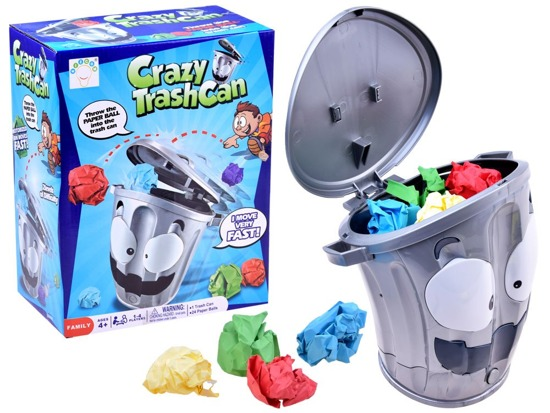 Crazy trash can arcade game GR0346