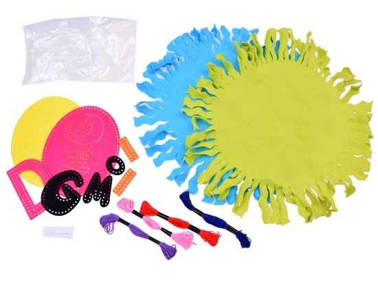 Creative set Colorful OMG ZA2580 pillow