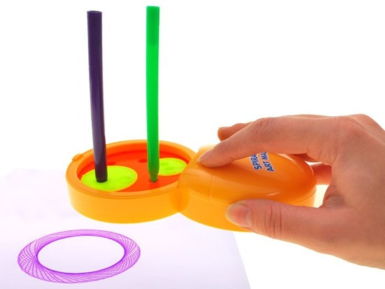 Creative set SPIRAL ART MACHINE pens TA0071